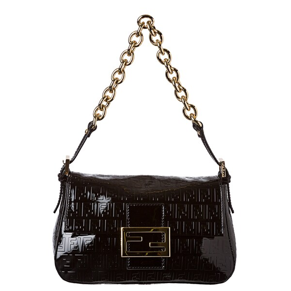 Fendi Patent Leather Mini Handbag