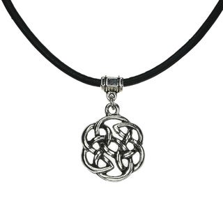 Jewelry by Dawn Celtic Knot Greek Leather Necklace
