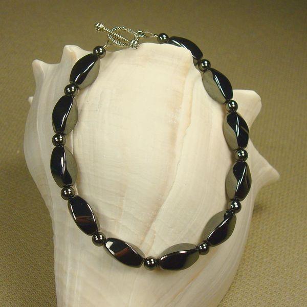 Jewelry by Dawn Hematite Twist Bracelet
