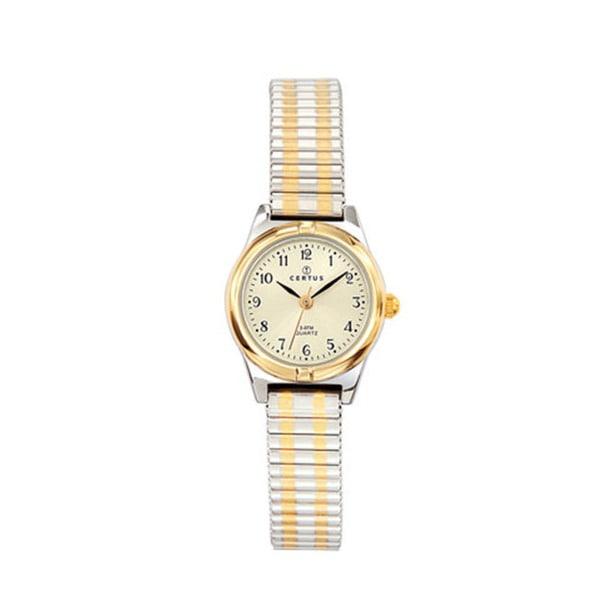 Certus Paris Women's Two-tone Stainless Steel Beige Dial Watch