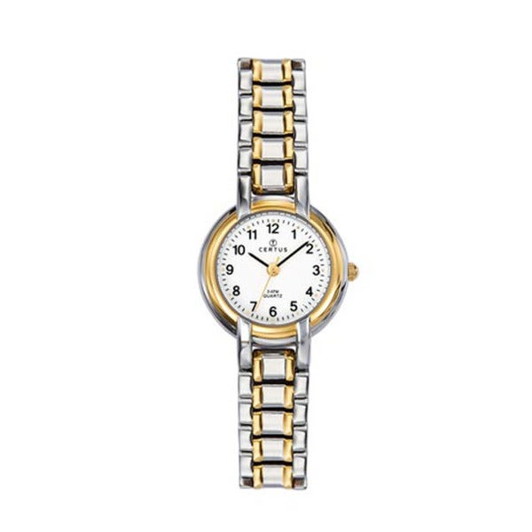 Certus Paris Women's Silver Two-Tone Stainless-Steel White-Dial Watch