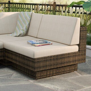 Sonax Park Terrace Saddle Strap Weave Armless Middle Seat