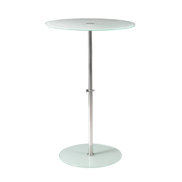 Raina Frosted Side Table