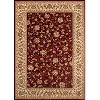 "Woven Wilton Red Traditional Persian Rug (5'3 x 7'10) - 5'3"" x 7'10"""