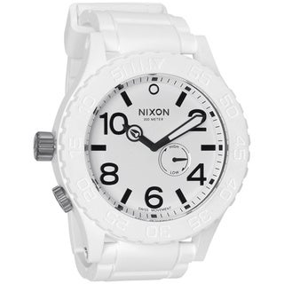 Nixon Men's White Rubber 51-30 Watch