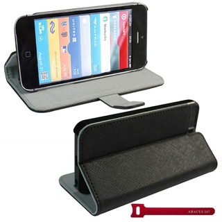 iPhone 5 Black Protective Case Cover Stand