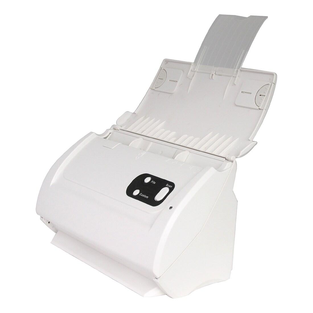 600 dpi Optical Plustek MobileOffice S410 Sheetfed Scanner