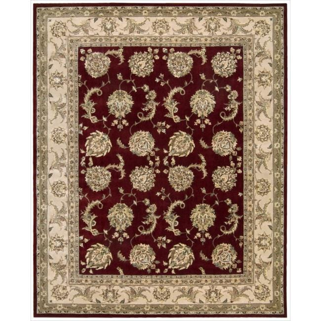 Nourison 2000 Hand-tufted Kashan Lacquer Rug (9'9 x 13'9)