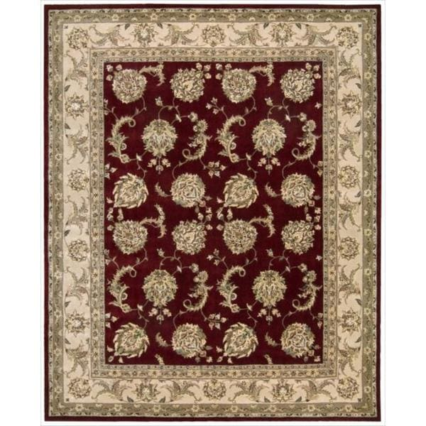 Nourison 2000 Hand-tufted Kashan Lacquer Rug (8'6 x 11'6)