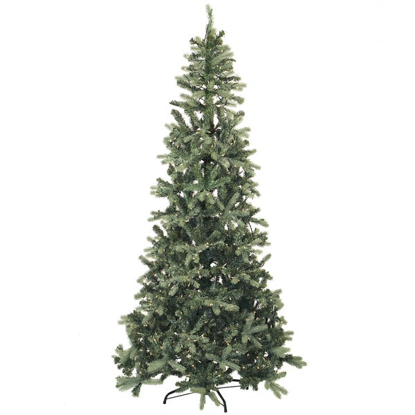 7.5-foot Full Blue Spruce Christmas Tree
