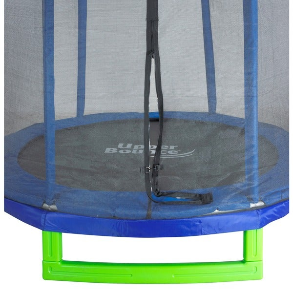 upper bounce 7u0027 trampoline u0026 enclosure set free shipping today