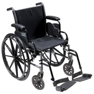 Drive Medical K320ADDA-ELR Cruiser III Lightweight Dual Axle Wheelchair (More options available)
