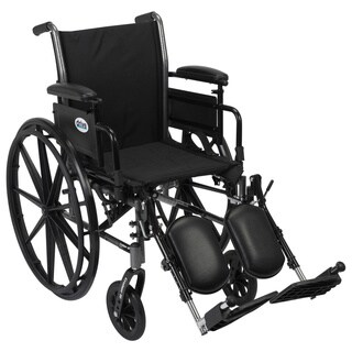 Drive Medical K320ADDA-ELR Cruiser III Lightweight Dual Axle Wheelchair