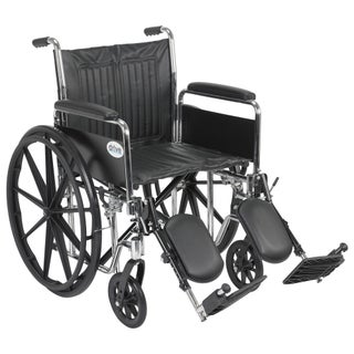 Drive Medical Chrome Sport Wheelchair (More options available)
