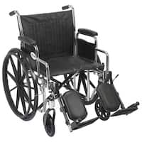 Drive Medical Chrome Sport Wheelchair