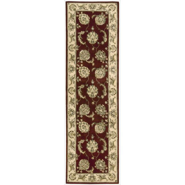 Nourison 2000 Hand-tufted Kashan Lacquer Rug (2'6 x 12')