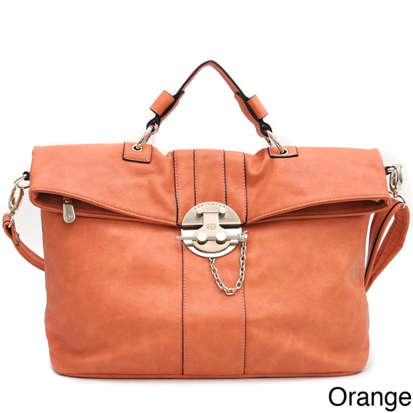 Anais Gvani Lock Detail Messenger Bag