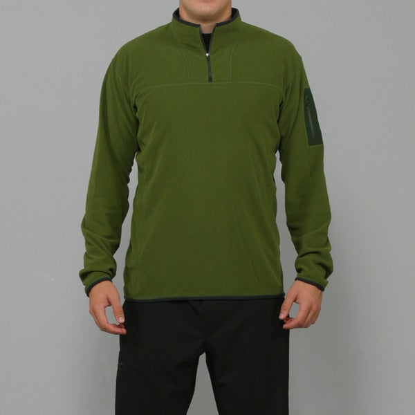 Arc'teryx Men's Caliber Amazon Green Zip Neck (L)