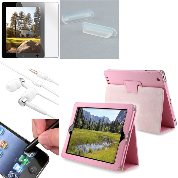 BasAcc Case/ Screen Protector/ Headset/ Plug for Apple® iPad 2/ 3