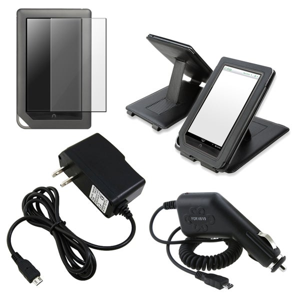 BasAcc Case/ Screen Protector/ Chargers for Barnes & Noble Nook Color