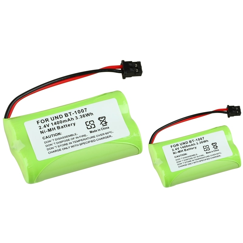 INSTEN Compatible Ni-MH Battery for Uniden BT-1007 (Pack of 2)