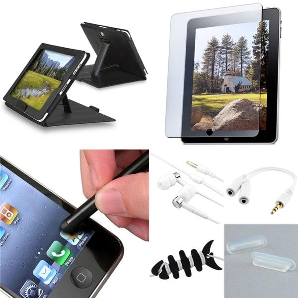 BasAcc Case/ Screen Protector/ Wrap/ Splitter/ Plug for Apple® iPad