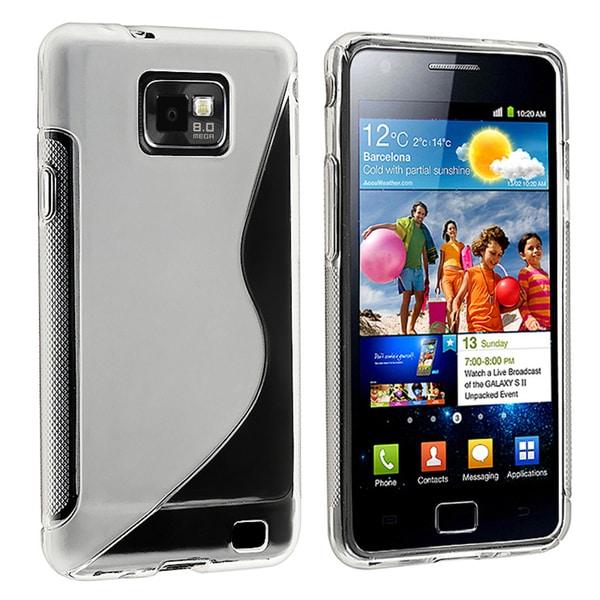 BasAcc White TPU Rubber Skin Case for Samsung© Galaxy S II/ S2 i9100