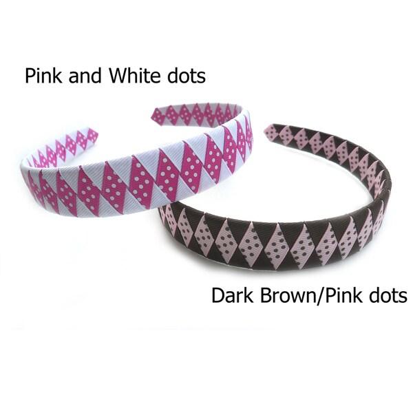 Boutique Woven Diamond Headband