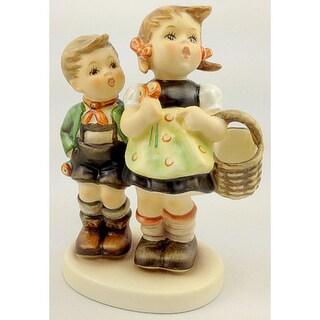 M I Hummel 'To Market' Porcelain Figure