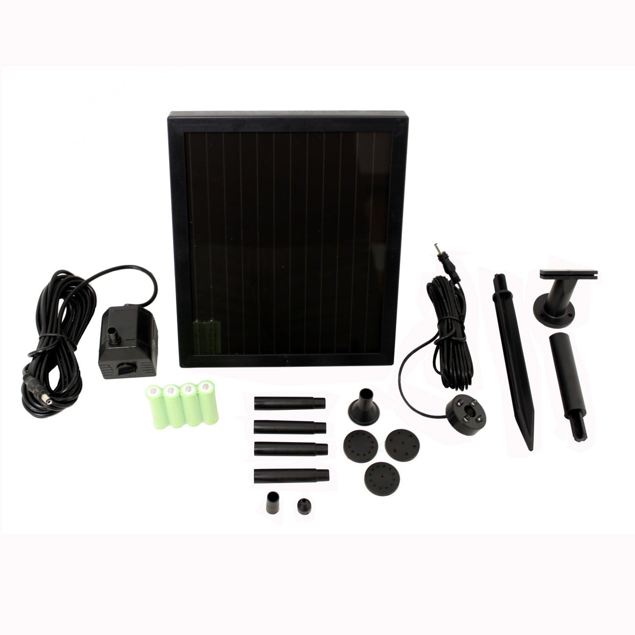 Smart Solar 1.4 Watt Solar Water Kit System (1.4 Watt), B...