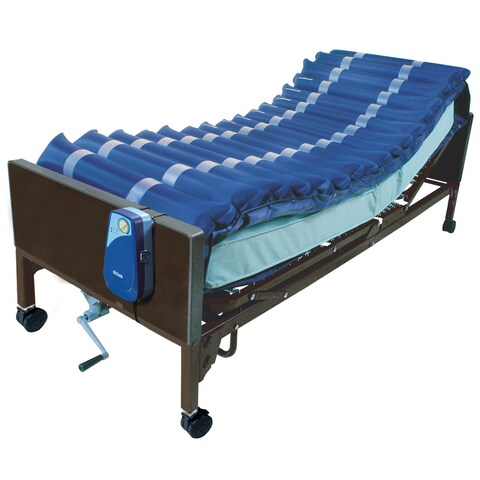 5-inch Med Aire Low Air Loss Mattress Overlay System with APP