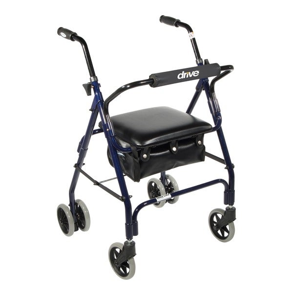 Drive Medical Mimi Lite Push Brake Walker Rollator