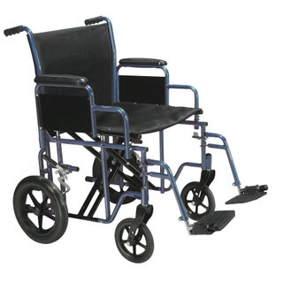 Drive Medical Bariatric Heavy-duty Transport Wheelchair with Swing-away Footrest (4 options available)