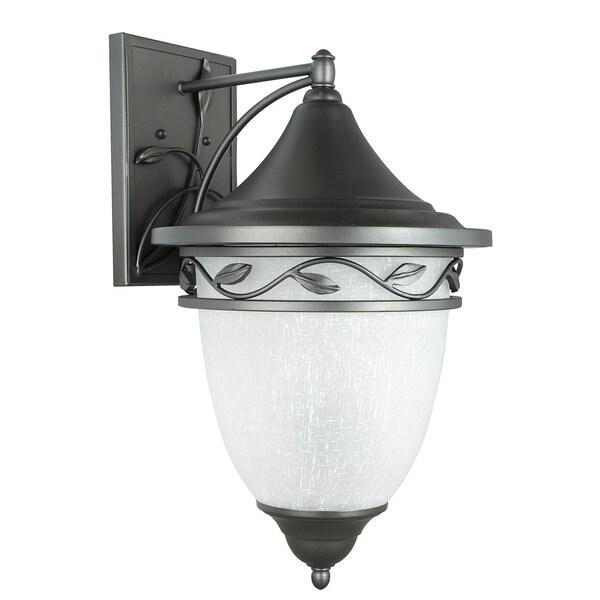 Natural Iron Three-Light Wall Lantern