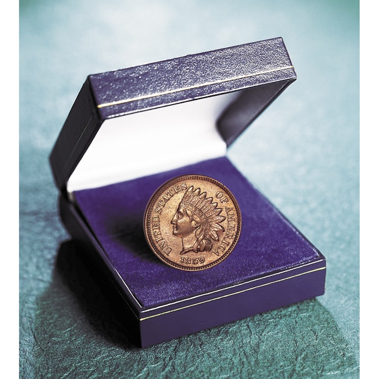 American Coin Treasures 1859 First Year of Issue Indian H...
