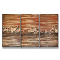 The Waterfront Triptych (17 x 33)