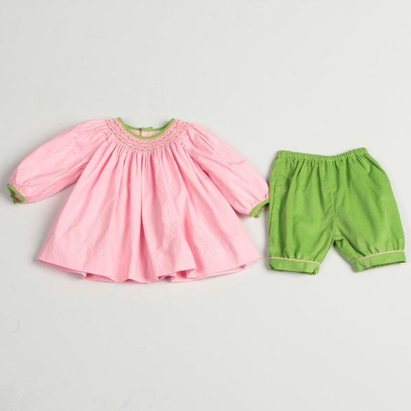 Petit Ami Newborn Girls' Printed Set
