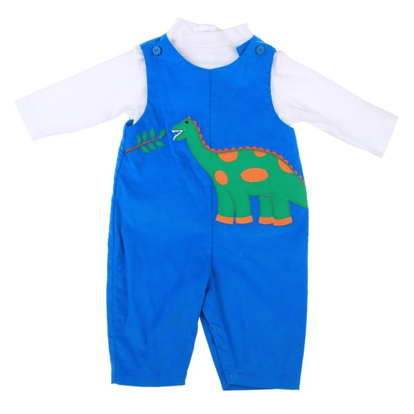 ZU Newborn Boy's 2-piece Dinosaur Set