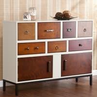 Harper Blvd Greyson Brown Wood 7-drawer Console