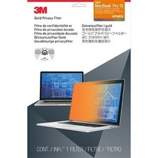 3M GPFMR15 Gold Privacy Filter for Apple MacBook Pro 15-inch with Ret