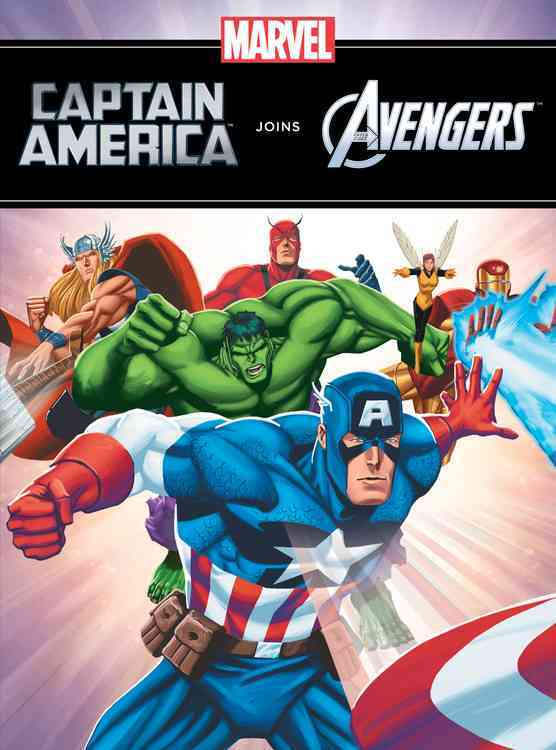 Captain America Joins the Avengers (Hardcover)