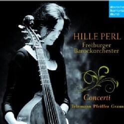 HILLE PERL - TELEMANN/PFEIFFER/GRAUN: CONCERTOS FOR V