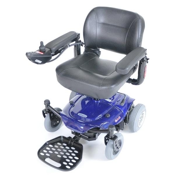 ActiveCare Cobalt Blue Travel Power Wheelchair