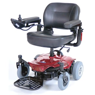 ActiveCare Cobalt Red Travel Power Wheelchair