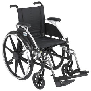 Viper Wheelchair with Flip Back Removable Desk Arms and Front Rigging Options