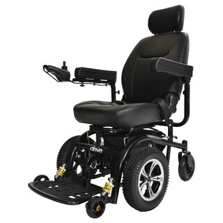 Drive Medical Trident Front Wheel Drive Power Chair - Black
