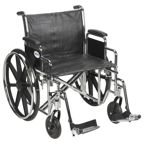 Drive Medical Bariatric Sentra EC Heavy Duty Wheelchair