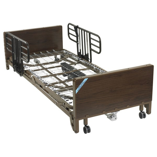 Delta Ultra-Light Full-Size Brown Electric Low Bed