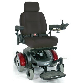 Drive Medical Image EC Mid Wheel Drive Power Wheelchair