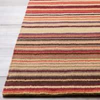 Hand-crafted Hawaiian Multi Wool Area Rug - 2' x 3'